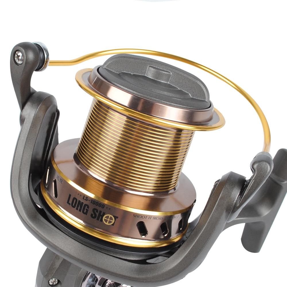 Sea Fishing Spinning Reel 13+1BB Heavy Duty Saltwater 3.9:1 Big Game 10000 12000