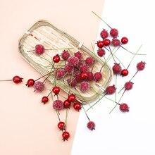 10 шт. дешевые пены вишни искусственные фрукты товары для дома Свадебные аксессуары зазор скрапбук diy Подарочная коробка поддельные растения
