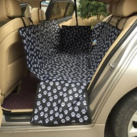 High Quality Pet Dog Cat Bulldog Car Rear Back Seat Carrier Cover Double Pet Blanket Cover