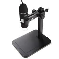 Portable USB Digital Microscope 1000X 8 LED 2MP Digital Microscope Endoscope Magnifier Camera Lift Stand Calibration