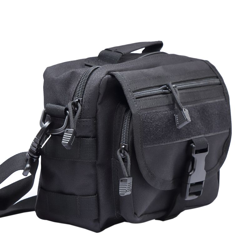 Molle Tactics Messenger Bag Nylon Single Shoulder Chest Pack Military Sling Bag Camouflage Army Crossbody Vintage Bag new stylish outdoors military tactics bag acu cp camouflage army black men bag camp mountaineer travel duffel messenger bag
