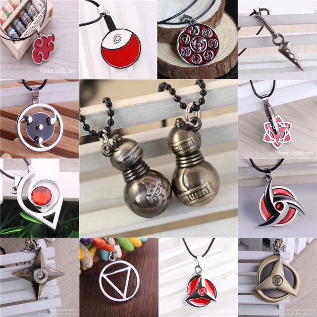 Naruto Shuriken Kunai Alloy Pendants Necklace