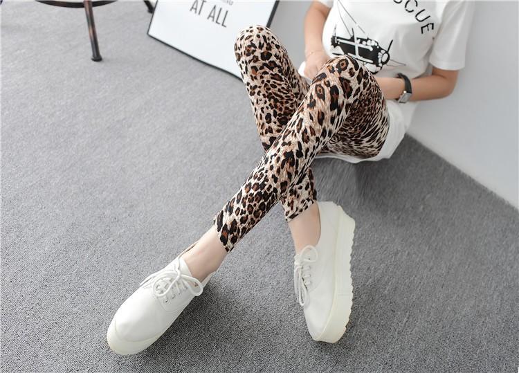Multiple Leopard Leggings Print Fashion Skinny Pants Womens Leggins 17 Elastic Calca Legging Feminina Workout Sale HDDK0011 15