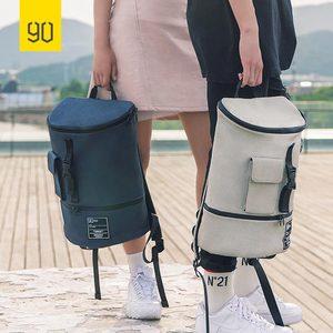 Image 5 - Nineygo 90FUN Fashion Chic plecak wodoodporny Bagpack mężczyźni kobiety tornister zakupy plecak na co dzień torba na laptopa duża pojemność