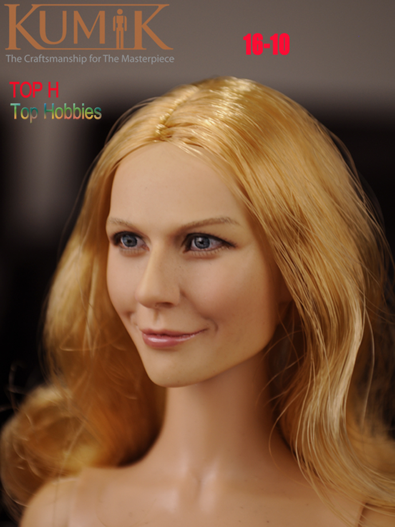 1/6 KUMIK Head Sculpt Female Figure Head Model Lifelike Girl 12 Action Figure Accessory Collection Doll Toys Gift KUMIK16-10 ключницы diesel x04757 pr480 t8013