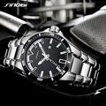 2018 SINOBI Мужские шок бизнес часы полный стальной мужской Модные Военные Наручные часы мужские светящиеся руки Relogio Masculino saat