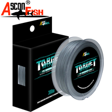 Ascon Fish 9 Strands 300m Braided Fishing Line For Cord Fishing Carp 9 Braid Thread Multifilament Line 20-500LB Rope