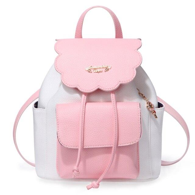 Japanese Anime Card Captor Cardcaptor Sakura Cosplay Backpack Shoulder Bag  Kawaii School Bag Bookbag Rucksack with 9cbf4ebb03630