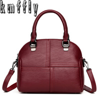KMFFLY Women Bags Designer Genuine Leather Luxury Handbags Fashion Shoulder Bag Sac A Main Marque Bolsas