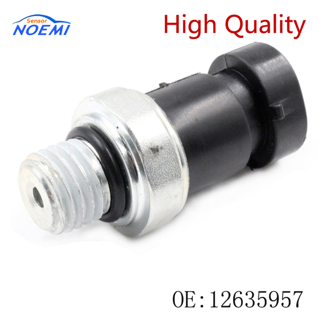 YAOPEI New 12635957 1S6864 12575483 Oil Pressure Sender With Light-Oil Pressure Switch For Chevrolet Buick GMC Hummer Saturn