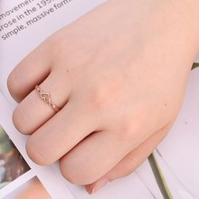 2018 New Sale Real Brand Rings For Women Genuine Austrian Crystal Gold Color Healthy Fashion(China)