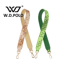 W. D. POLO De Mode sac bandoulière femmes sacs ceintures femmes sac à main accessoire sacs pièces PU sac à bandoulière en cuir et tissu M2160