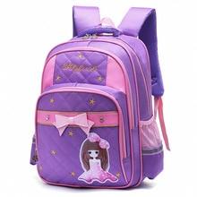 New Kids Schoolbags for Girls Waterproof Bookbags Children Princess Orthopedic Backpack Primary Escolar Satchel Mochila Infantil