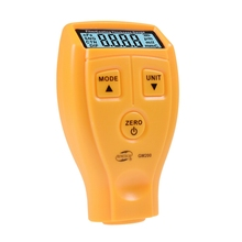 Portable Mini Film Coating Thickness Gauge Digital Automotive Coating Ultrasonic Paint Iron Thickness Gauge Width Measure