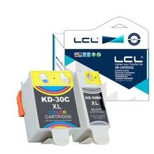 LCL 30 30B 30C XL 30BXL 30CXL (2-Pack) чернильный Картридж Совместим для Kodak ESP C100, C110, C115, C300, C310, C315, C330, C360