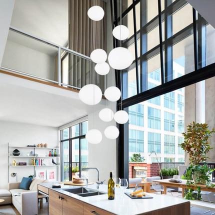 US $38.69 28% OFF|Italy Foscarini Gregg Suspension Lamp Glass Pendant  Lights Modern Led Irregular Hanging Lamp Dining Room Kitchen Light  Fixtures-in ...