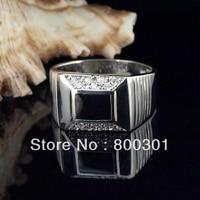 30964 hot silver rings for men, men ring. silver men rings, enamel rings
