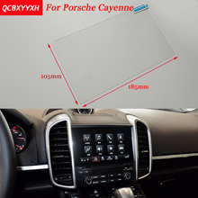Car Sticker 8 7 Inch GPS Navigation Screen Steel Protective Film For Porsche Cayenne Control of LCD Screen Car Styling