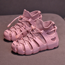 ULKNN Girls net shoes 2019 Fall new boys hollow childrens breathable mesh kdis little girl sports