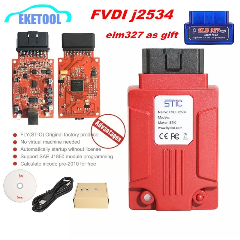 Suporta Módulo j2534 FVDI Para Focom Online/Mazda Suporta Online Software/Firmware Update SAE J2534 Módulo de Programação