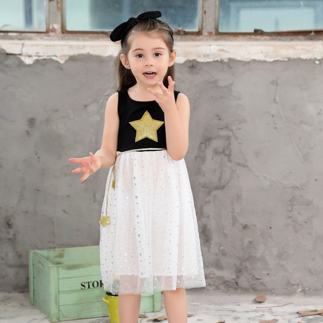 Princess Dress 2017 Toddler Children Clothing Kids Clothes Wedding Party Holiday Dresses S Casual