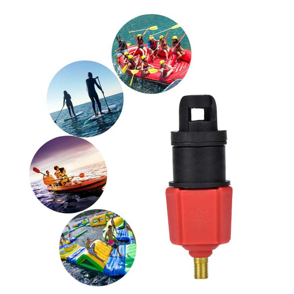 Surf Paddle Board Canoe Inflatable Boat Nozzle Inflatable Pump Air Valve Adapter