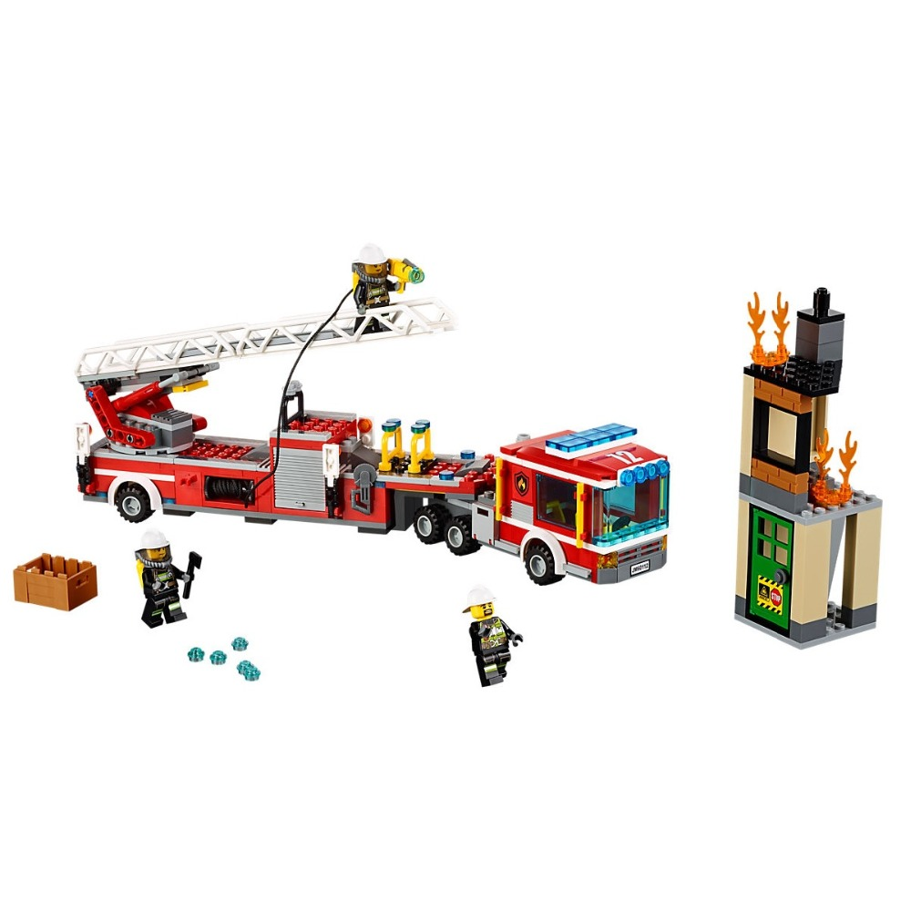Fire Engine Compatible Legoe City Fire 60112 Building Blocks Bricks Car Model toys for Childrens kid gift 421PcsFire Engine Compatible Legoe City Fire 60112 Building Blocks Bricks Car Model toys for Childrens kid gift 421Pcs