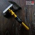 Nuevo diseño colorido de metal mango de afeitar envío gratis