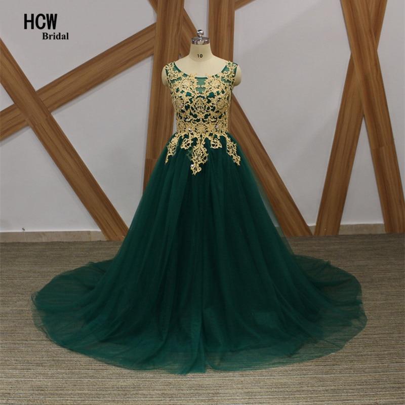 Темно-зеленый мусульманин арабское вечернее платье 2019 из бисера золотые кружева тюль принцесса элегантные вечерние платья плюс размер женщин вечерние платья
