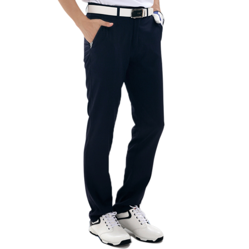 цена на Golf Clubs Golf Pants Men Quick Drying Golf Clothing Tennis Trouser Sportswear Summer Slim Trouser Waterproof Pants Plus Size