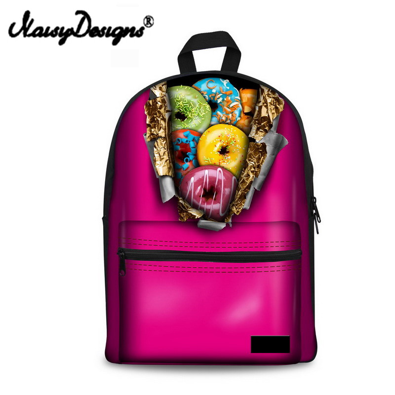 Doughnut, School, Bags, Noisydesigns, Travel, Print