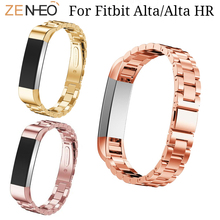 Stainless Steel Bracelet Watch band For Fitbit Alta/Alta HR Wristband replacement for Alta Smart Watches straps belt