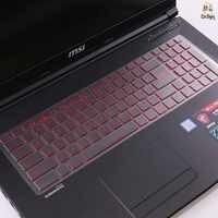 Laptop TPU tastatur film protector abdeckung Für MSI GS60 GS70 GL62M GL72M GT72 15,6 zoll notebook transparent wasserdichte membran.