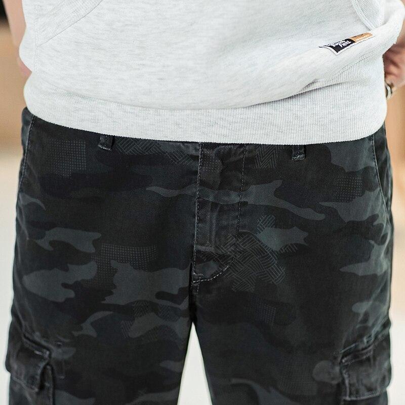 Hommes 323 Printemps 28 gray Marque Armygreen Nouveau 2019 38 Long Style Camouflage Mode Militaire Pantalon Camo Casual Mâle Cargo aaRHrqBx
