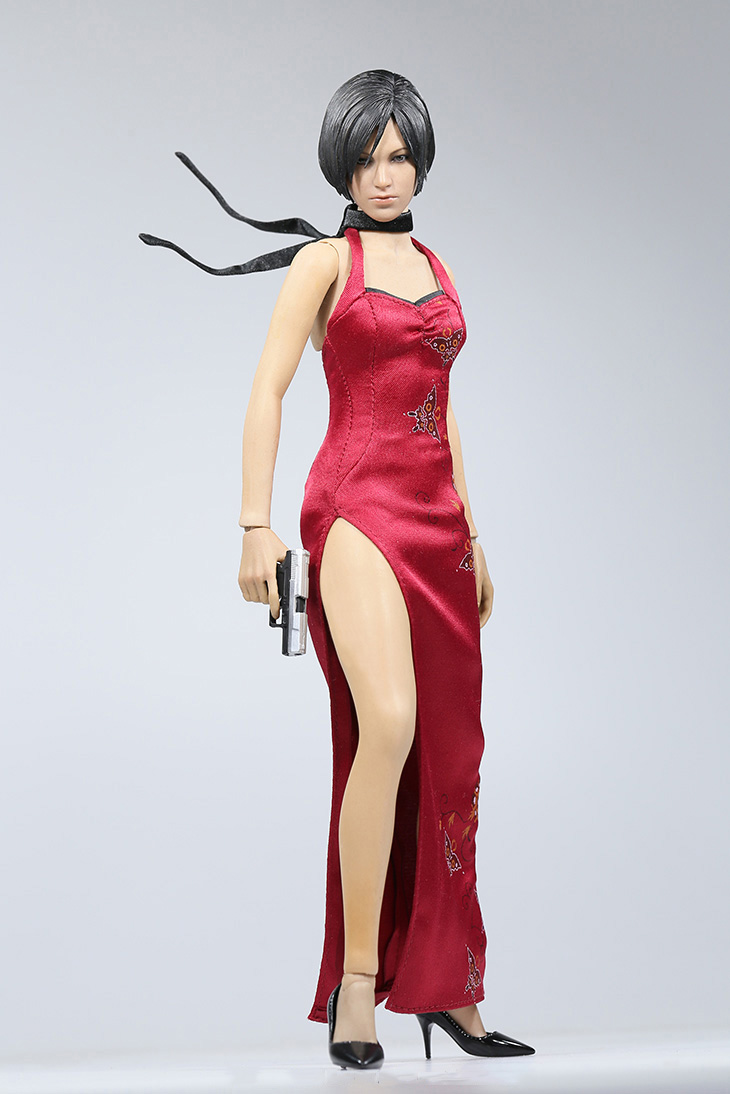 1/6 Resident Evil Ada Wong Action Figure Cheongsam Figure Collection Model Toys 1 6 scale resident evil 6 leon scott kennedy full set action figure for collections