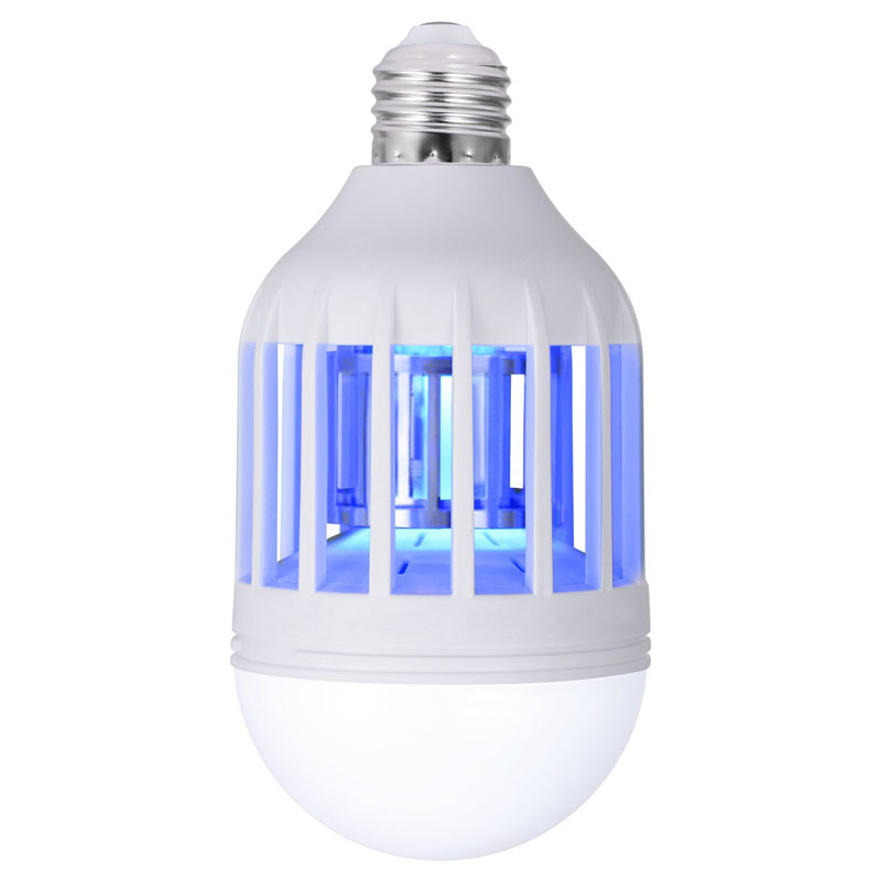 Efficient LED Bug Zapper Light Bulb Cleaning Mosquito Killer EU US 9W 15W Insect Trap Lamp Home Backyard E27 led Bulb Outdoor - 3