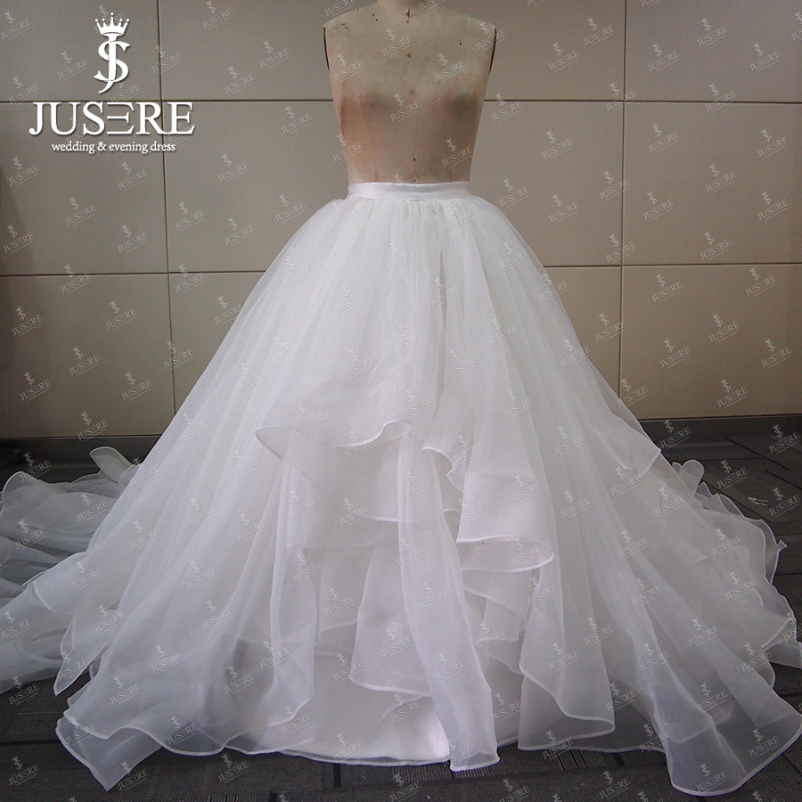 New Arrival Ivory Organza Bridal Ball Gown Petticoat Tiered For ...