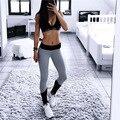 Leggings Mulheres Moda de Nova Athleisure Patchwork Elástico Push Up Longo Legging Calças Femininas Roupas de Fitness Leggings