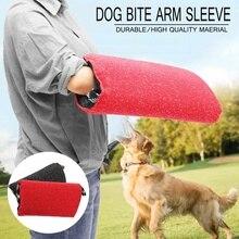 Подушка для укуса собаки рукав для дрессировки питомца рукав для защиты рук джутовый питомец игрушка для укуса Бесплатный тренировочный клокер для средних и больших собак
