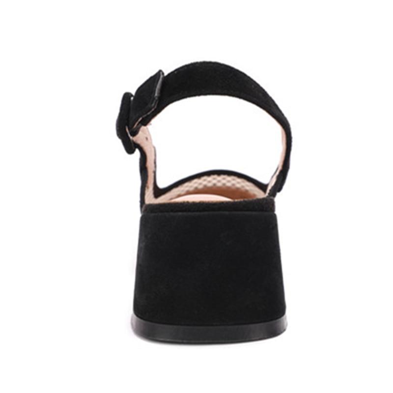 Nuova Donna Tacchi Nuove Open per Square estate Pumps nero a donna Asumer 2019 speciale scarpe Top rete Offerta Slingback 6nOStAB