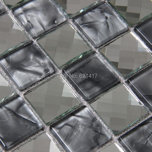 Grau Farbe 13 Konfrontiert Glasmosaik Fliesen Küche Backsplash Mosaic  Badezimmer Duschwand Mosaik Schlafzimmer Fliesen HMB1437
