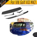 MK7 to R styling carbon fiber Painting Looking roof spoiler lip wings fit for VW standard golf VII MK7 2014UP