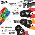 HSC8 6-6 0.25-6mm 23-10AWG משושה 6-4A 0.25-6mm 23-10AWG מרובע צינור מסוף Crimping פלייר מלחץ יד כלים
