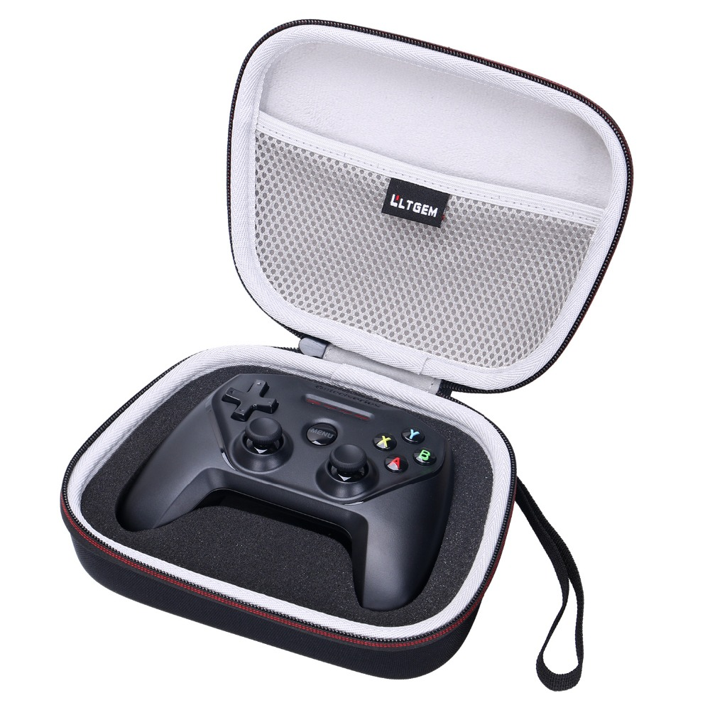 LTGEM EVA Hard Travel Carrying Case Protective For SteelSeries Nimbus Wireless Gaming Controller - Storage Bag