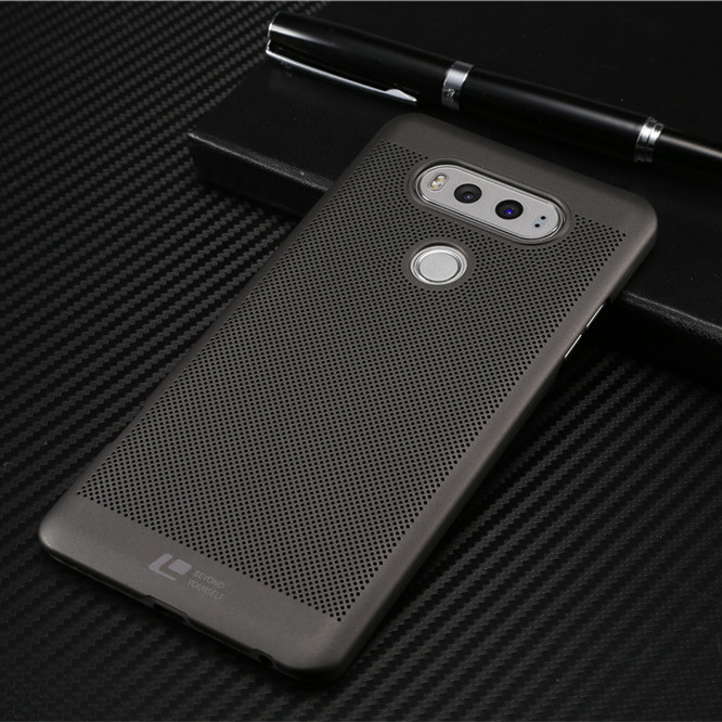 New ultra thin pc back cover for lg v20 case with Heat dissipation function  original phone bag accessories
