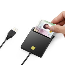 Zoweetek 12026-1 USB الذكية قارئ بطاقات writerPC/SC USB-CCID EMV ISO7816(China)