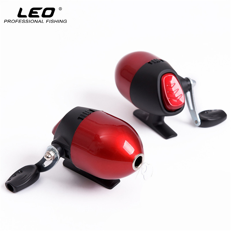 Leo closed fishing reels with 3 line 50m spincast reel for Crossbow fishing reel