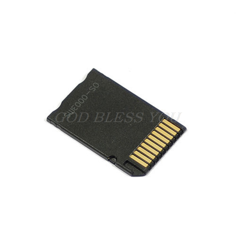 Micro SDHC TF to Memory Stick MS Pro Duo PSP Adapter Newest Converter Card image