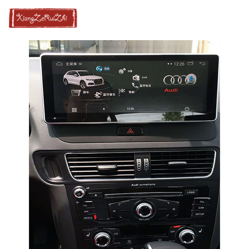 10.25 pollice 4 gb + 64 gb OCTA CORE Android GPS per auto dvd multimediale di navigazione Per AUDI Q5 (2009 -2017) con radio/video/USB/WIFI