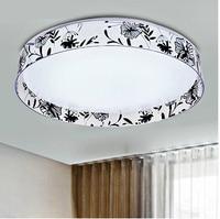 Novelty Led Ceiling Light Fixtures AC85-265V 24W Indoor Lighting Bedroom Lamp Living Room Lights Home Decoration Free shipping